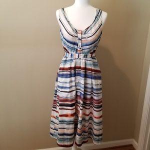 Moulinette Soeurs Afterlight Watercolor Dress Sz 8